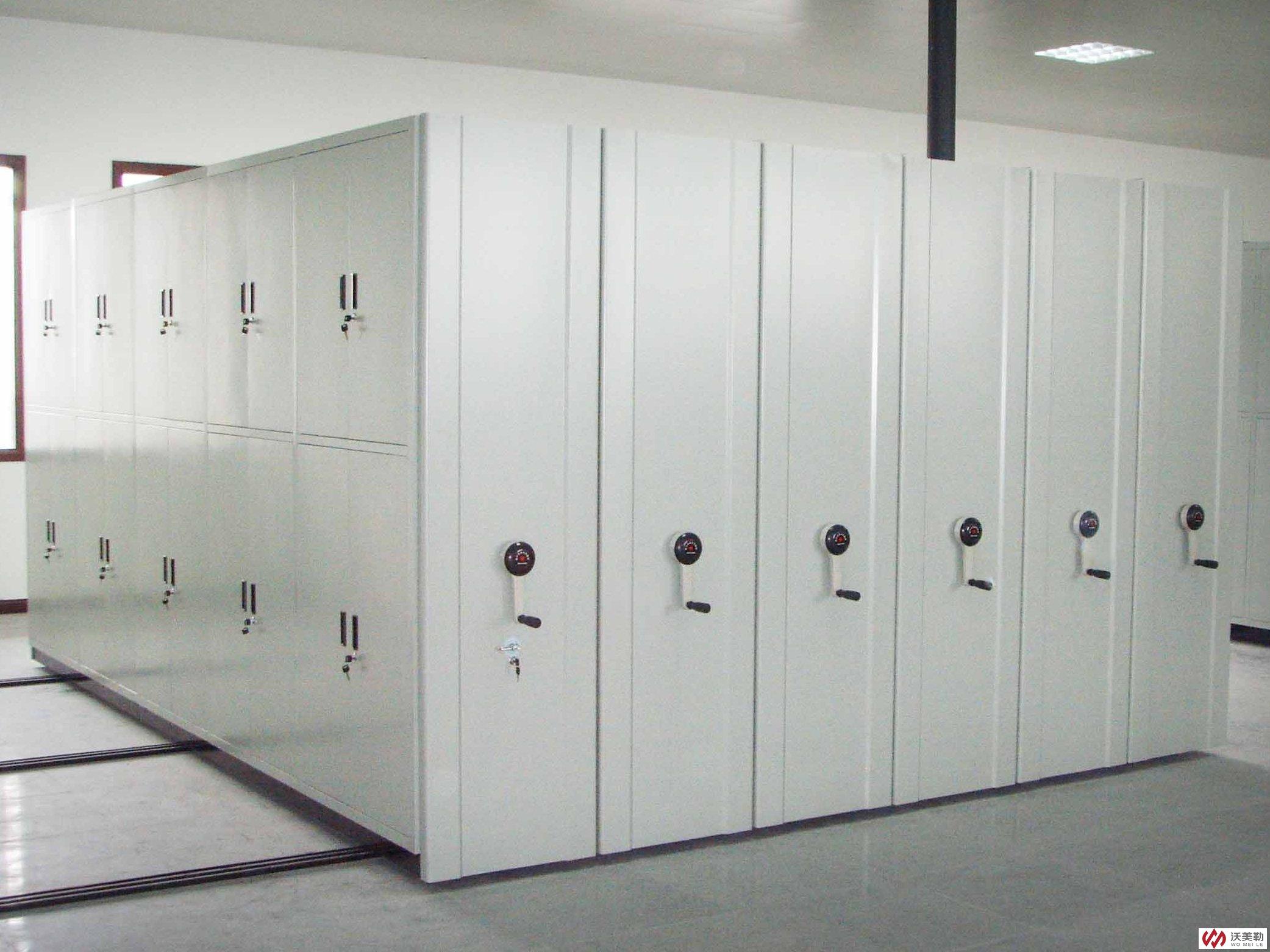 集合书架、货架、档案架优点的密集架